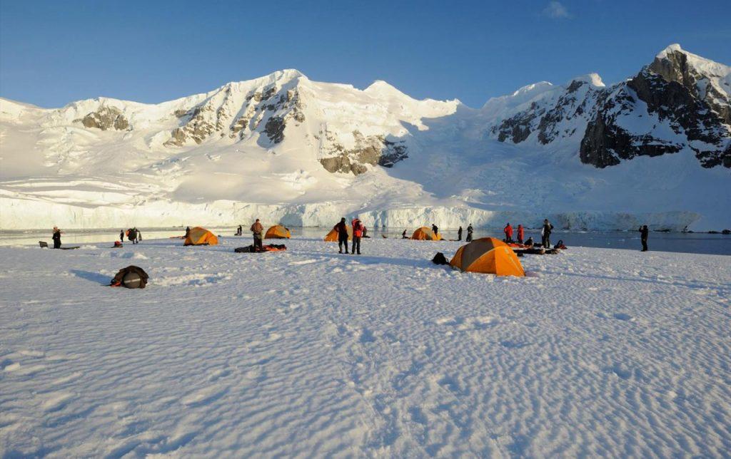 Base Camp Antartida