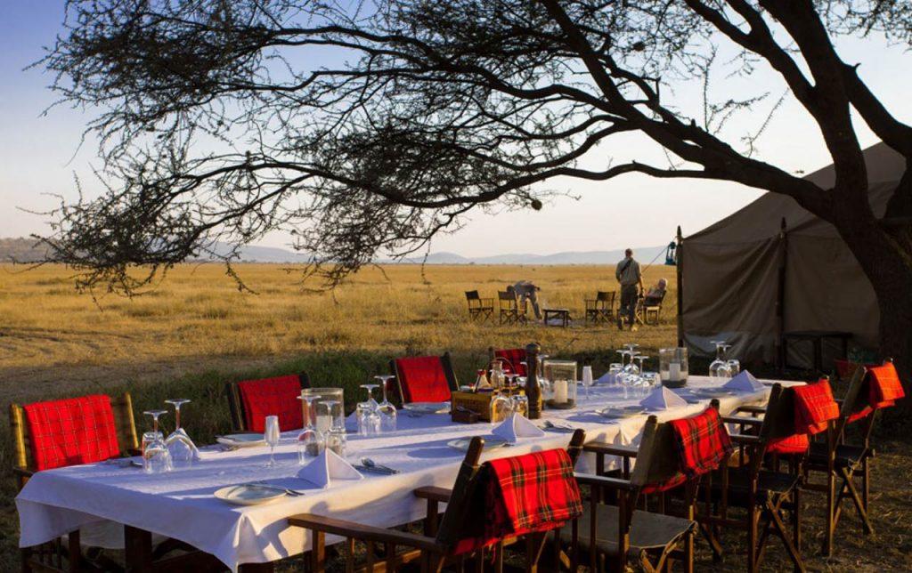Campamento móvil Zambia