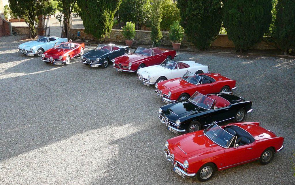 La Toscana en coches clásicos