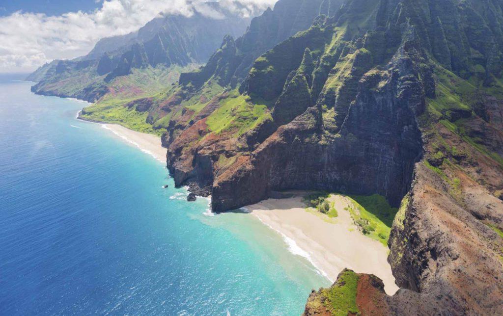 Hacer un trekking en Na Pali Coast, Hawai